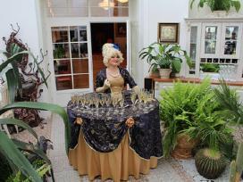 Vestuvių dekoravimas, pakvietimai, judantis stalas