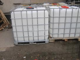 Plastikiniai konteineriai 1000 litrų talpos - nuotraukos Nr. 3