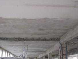 Pastatų smėliavimas, pastatų dažymas