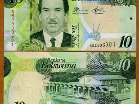 Botsvana 10 Pula 2012m. P30 Unc