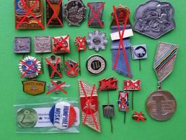 Ivairus zenkliukai medaliukai
