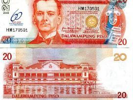 Filipinų Respublika 20 Piso 2009m P200 Unc Proginė