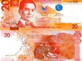 Filipinų Respublika 20 Piso 2012m. Unc