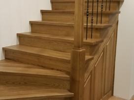 Laiptai Laiptu gamyba medzio pakopos - nuotraukos Nr. 11