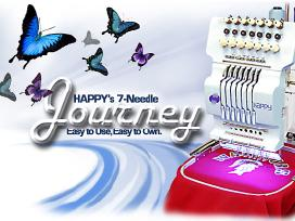 Nauja Happy Hch-701-30 siuvinėjimo mašina - nuotraukos Nr. 3