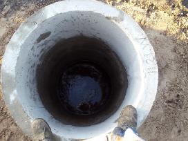 Šulinių Kasimas , Vietinių Kanalizacijų Įrengimas