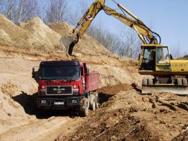 Pigiai skalda, žvyras, smėlis Kauno apskrityje