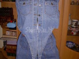 Džinsinis sijonas ir liemene