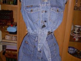 Džinsinis sijonas ir liemene - nuotraukos Nr. 2