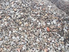 Betonine skalda Žvyras juodzemis asfalto druozles