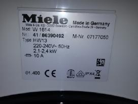 "Skalbimo mašina"" Mielė ""Novotronic W1614"