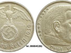 Deutsche reich 5 reichsmark,
