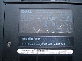 Dell Studio 1535 dalimis - nuotraukos Nr. 2