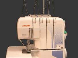 Janome 644D overlokas 2,3 ir 4 adatų