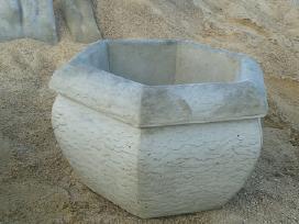 Išskirtinės betono Vazos skulptūros, fontanai Jums - nuotraukos Nr. 7