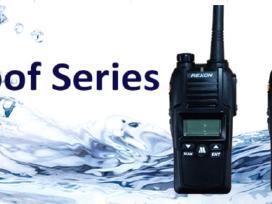 Rexon nešiojamos radijo stotelės iki 12 km