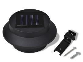 6 Lauko Šviestuvai su Saulės Baterijomis - vidaxl