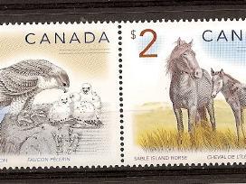 """Parduodu Kanados pašto ženklus tema """"fauna """" - nuotraukos Nr. 2"""
