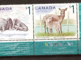 """Parduodu Kanados pašto ženklus tema """"fauna """" - nuotraukos Nr. 3"""