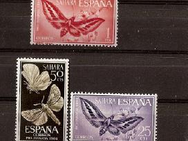 """Parduodu Ispanijos Sachara ženklus tema """"fauna"""""""