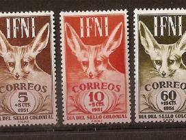 """Pard Ispanijos Ifni ir Rio Muni ženklus """"fauna"""" - nuotraukos Nr. 2"""