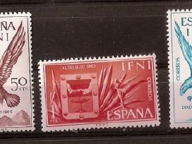 """Pard Ispanijos Ifni ir Rio Muni ženklus """"fauna"""" - nuotraukos Nr. 4"""