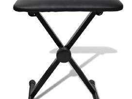 Klavišinio Instrumento Stovas ir Kėdutė - vidaxl