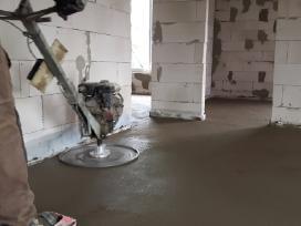 Grindu betonavimas. Paruosimo darbai