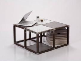 Stalas-lentyna- stelažas+14 eur Dovana stalčiai - nuotraukos Nr. 2