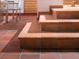 klinkerio plytelės laiptams