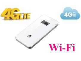 4G modemas Lte 3g WiFi Mifi su baterija