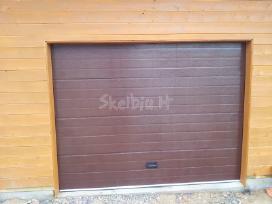 Pakeliami segmentiniai garažo vartai - nuotraukos Nr. 2