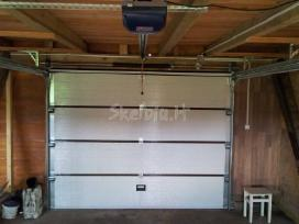 Pakeliami segmentiniai garažo vartai - nuotraukos Nr. 3