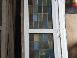 Naudotos plastikinės balkono durys 2.27x0,76 - nuotraukos Nr. 4