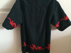 Juodi marškinėliai berniukui - nuotraukos Nr. 2