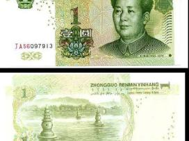 Kinija 1 Yuan 1999m. P895 Unc