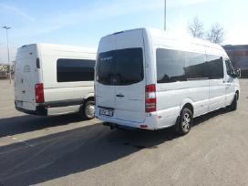 Mikroautobuso nuoma su vairuotoju 18+1vairuotojas