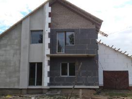 Statybų darbai: fasadu siltinimas, stogu