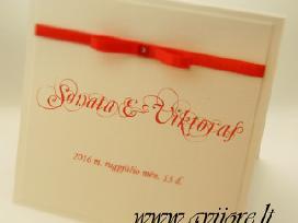 Vestuviniai kvietimai ir kt. vestuvinė atributika - nuotraukos Nr. 9
