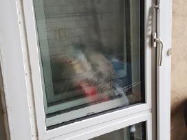 Naudotos plastikinės balkono durys 2.27x0,76 - nuotraukos Nr. 3