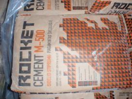 Cementas svediskas 35kg 4.08e, lietuviskas 3.8e