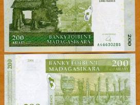 Madagascar 200 Ariary / 1000 Francs 2004m. P87 Unc