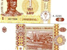 Moldova 1 Leu 2010m. P8h Unc