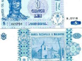 Moldova 5 Leu 2009m. P9f Unc