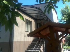 Stogeliai virs duru,stogines,terasos,durys