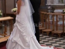 Nuostabi elegantiška vestuvinė suknelė - nuotraukos Nr. 3