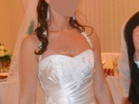 Nuostabi elegantiška vestuvinė suknelė - nuotraukos Nr. 4
