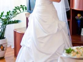 Nuostabi elegantiška vestuvinė suknelė - nuotraukos Nr. 5