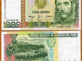 Peru 1000 Intis 1988m. P136 Unc