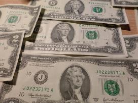 Parduodu retus 2 dolerių banknotus. - nuotraukos Nr. 2